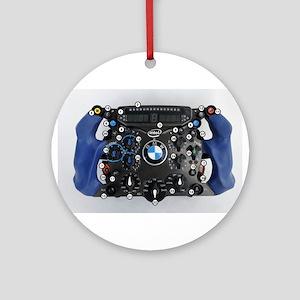 F1 wheel Ornament (Round)