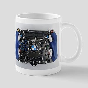 F1 wheel Mugs