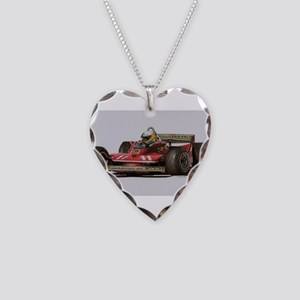 f1 Necklace Heart Charm
