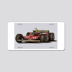 f1 Aluminum License Plate