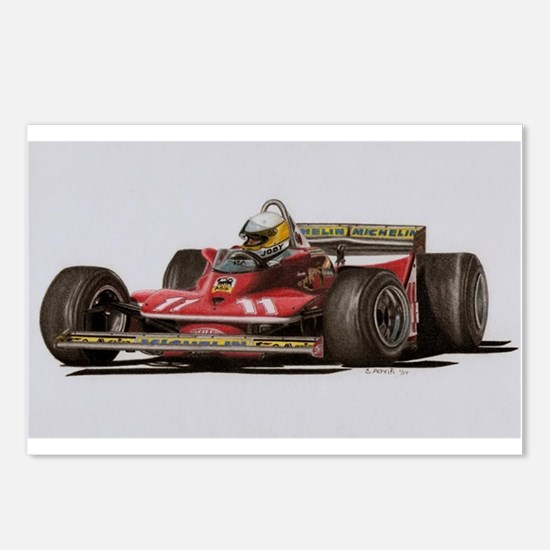 f1 Postcards (Package of 8)