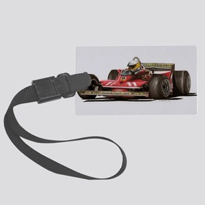 f1 Large Luggage Tag