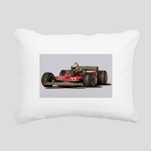 f1 Rectangular Canvas Pillow