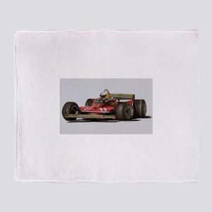 f1 Throw Blanket