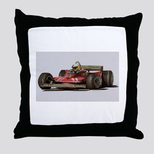 f1 Throw Pillow