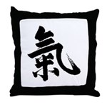 Ki Throw Pillow
