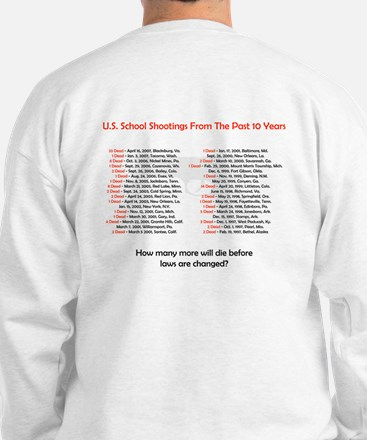 Stop School Shootings Sweatshirt