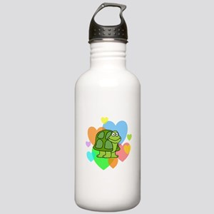 Turtle Hearts Stainless Water Bottle 1.0L