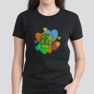 Turtle Hearts Women's Dark T-Shirt