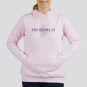 Phi Sigma Pi Logo Women's Hooded Sweatshirt