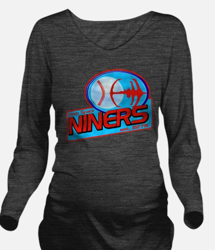 DS Niners Long Sleeve Maternity T-Shirt