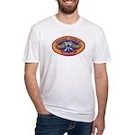 USS BENJAMIN FRANKLIN Fitted T-Shirt