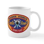 USS BENJAMIN FRANKLIN Mug