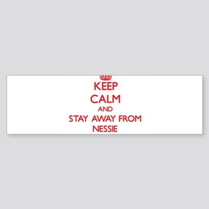 Keep calm and stay away from Nessie Bumper Sticker