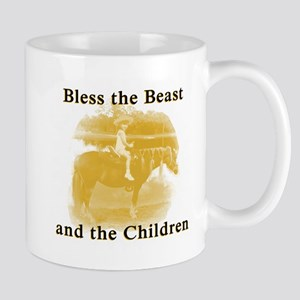 Bless the beast and children Mugs