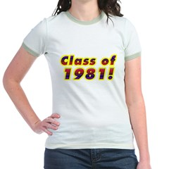 Class of 1981 T