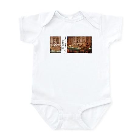 Trevi Fountain 2 photos Infant Bodysuit
