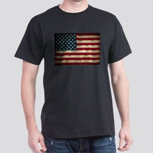 USA Flag - Grunge T-Shirt