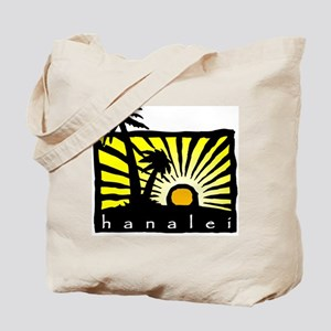 Hanalei Sunset Tote Bag