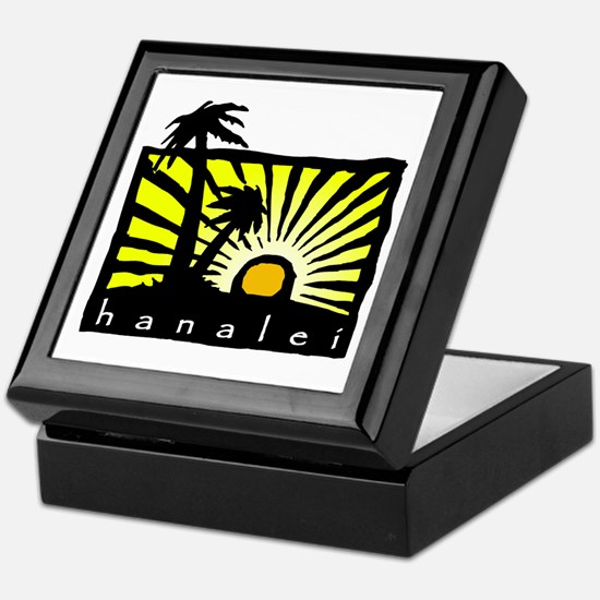 Hanalei Sunset Keepsake Box
