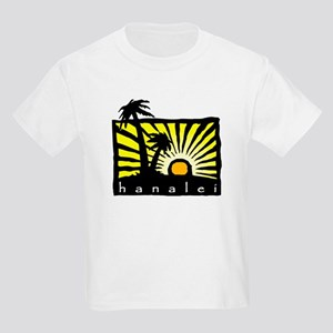 Hanalei Sunset Kids T-Shirt
