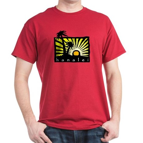 Hanalei Sunset Dark T-Shirt