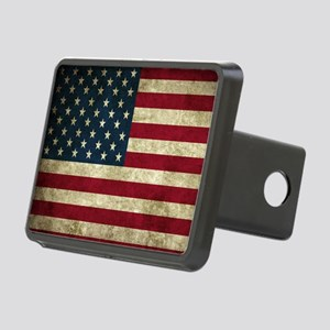 USA Flag - Grunge Hitch Cover