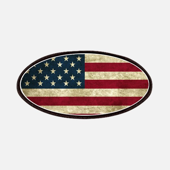 USA Flag - Grunge Patches