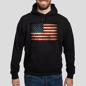 USA Flag - Grunge Hoodie
