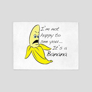 Happy Banana 5'x7'Area Rug