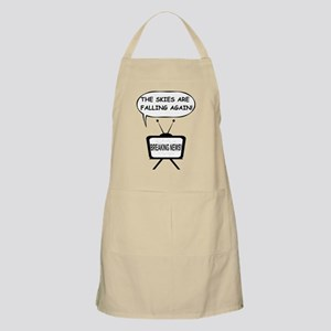 The Skies Are Falling Again Apron