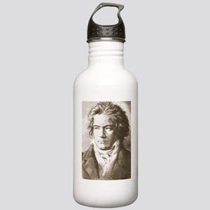 Beethoven In Sepia Stainless Water Bottle 1.0L