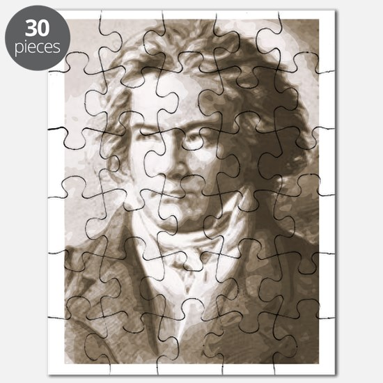 Beethoven In Sepia Puzzle