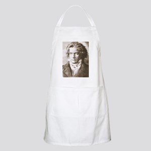 Beethoven In Sepia Apron