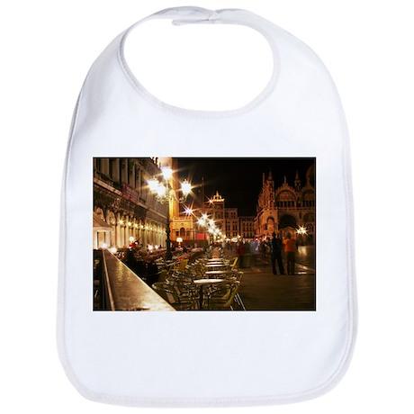 Venice Church Plaza w/tables Bib