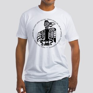 Cicely Raven with Quote Fitted T-Shirt