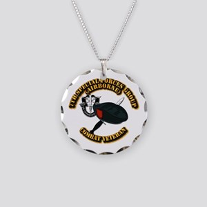 7th Special Forces - Combat Necklace Circle Charm