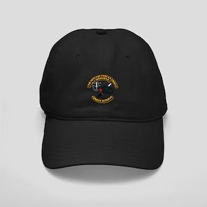 7th Special Forces - Combat Vet Black Cap