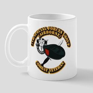 7th Special Forces - Combat Vet Mug