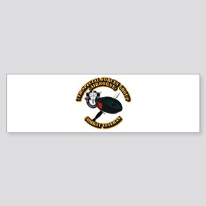 7th Special Forces - Combat Vet Sticker (Bumper)