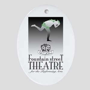 Fountain St. Theatre<br> Oval Ornament