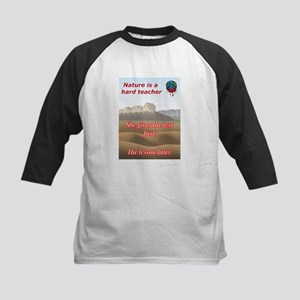 Nature teaches Kids Baseball Jersey