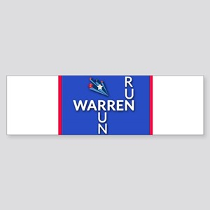 Run, Warren, Run Bumper Sticker
