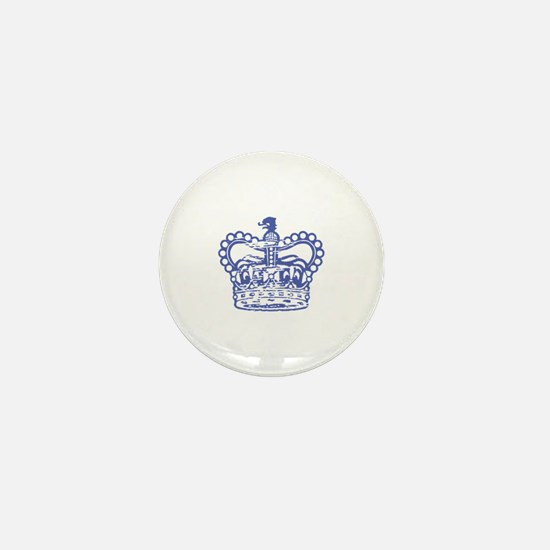 Once and Always-Queen Mini Button