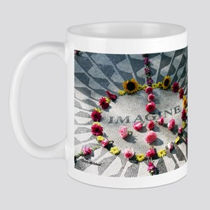 """Imagine,"" Strawberry Fields, Mug"