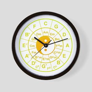 yin yang circle of 5th Wall Clock