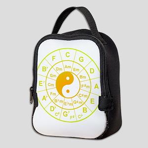 yin yang circle of 5th Neoprene Lunch Bag