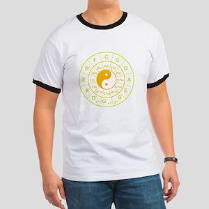 yin yang circle of 5th T-Shirt