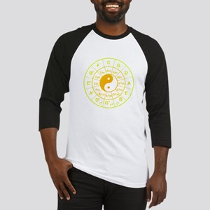 yin yang circle of 5th Baseball Jersey