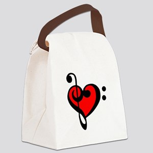 love my clef Canvas Lunch Bag